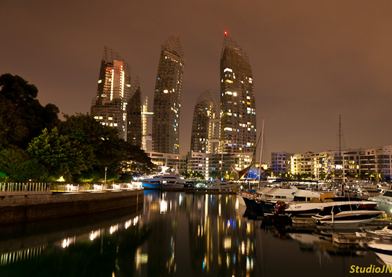 Reflections at Keppel Bay by Daniel Liebeskind